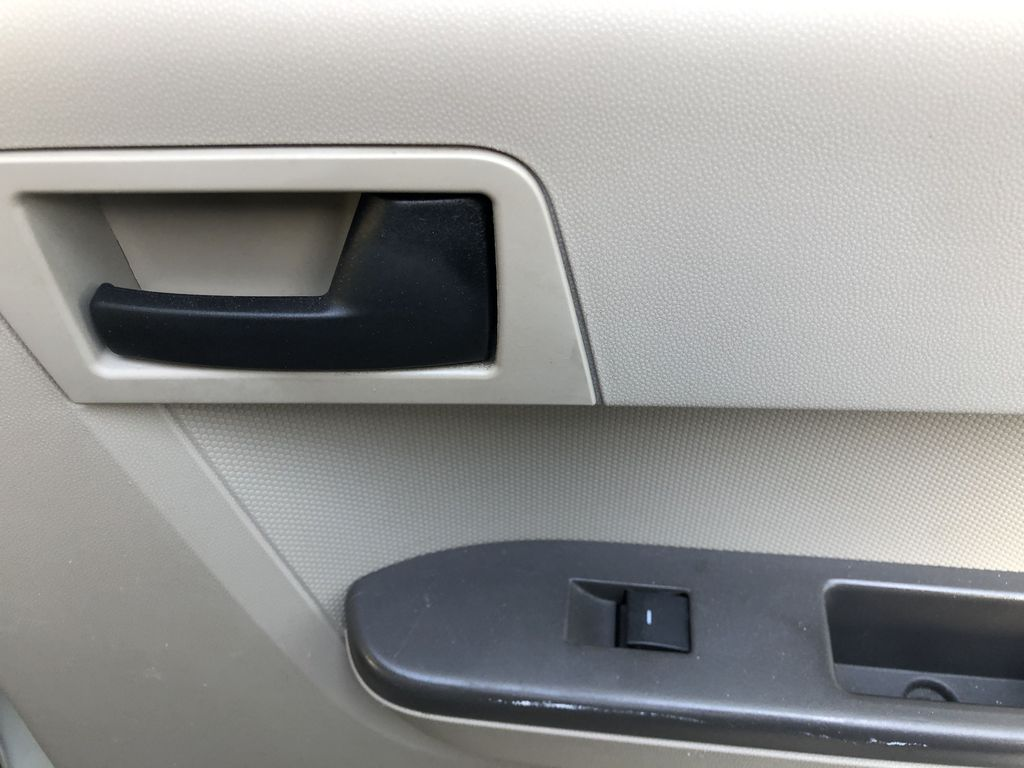 Silver[Silver Metallic] 2008 Ford Escape XLT Passenger Rear Door Controls Photo in Canmore AB