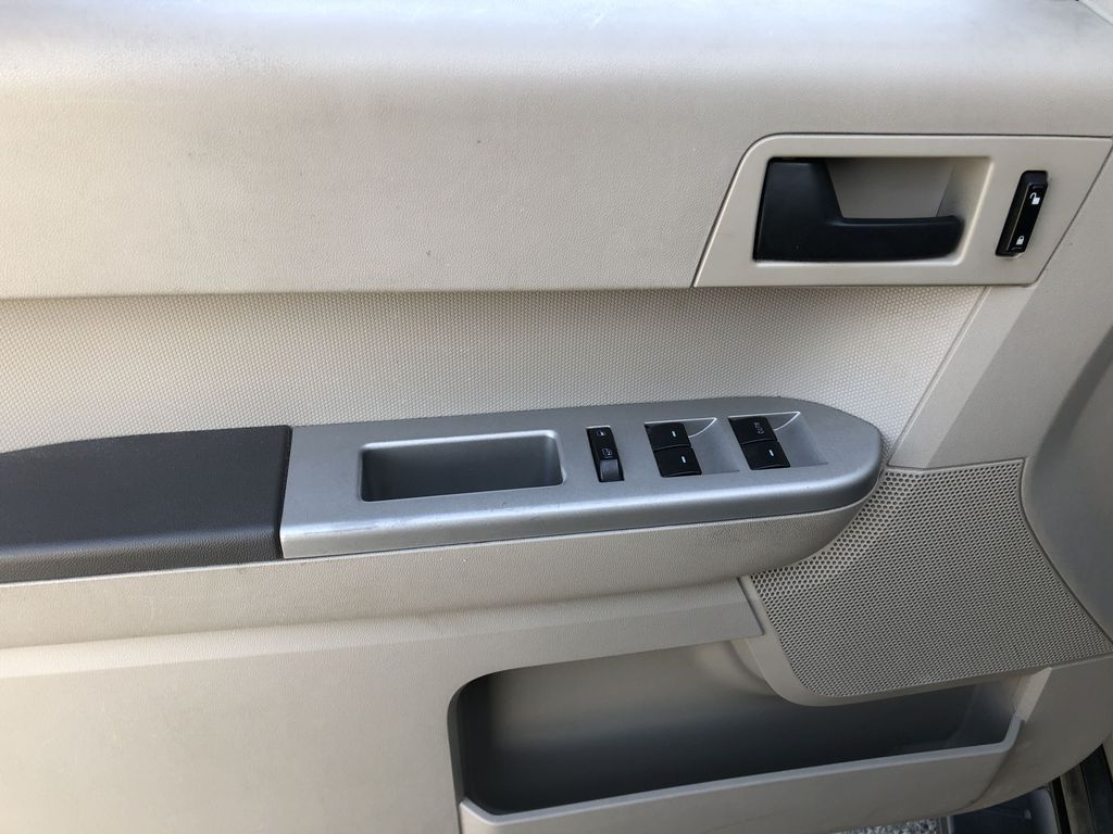 Silver[Silver Metallic] 2008 Ford Escape XLT Left Front Interior Door Panel Photo in Canmore AB