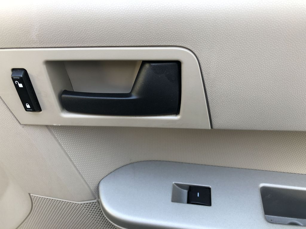 Silver[Silver Metallic] 2008 Ford Escape XLT Passenger Front Door Controls Photo in Canmore AB