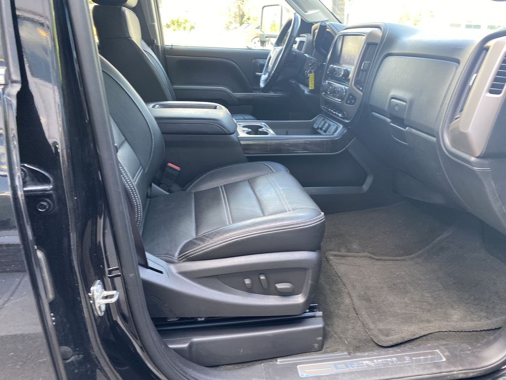 Black[Onyx Black] 2015 GMC Sierra 3500HD Denali Right Side Front Seat  Photo in Canmore AB