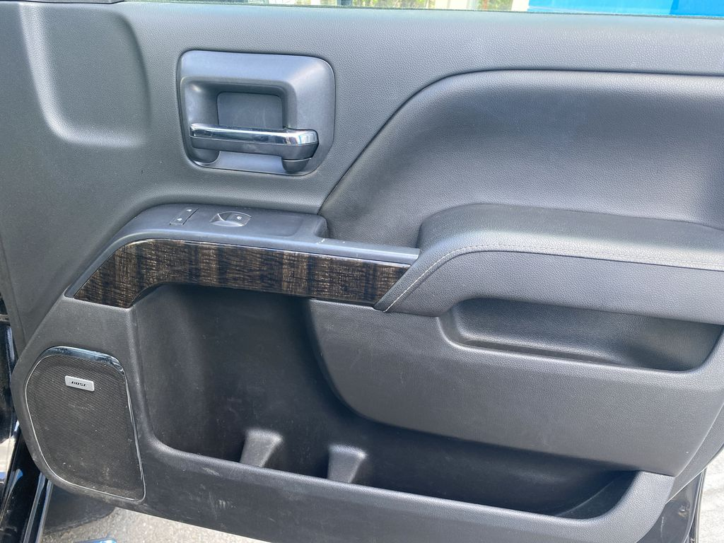 Black[Onyx Black] 2015 GMC Sierra 3500HD Denali Right Front Interior Door Panel Photo in Canmore AB