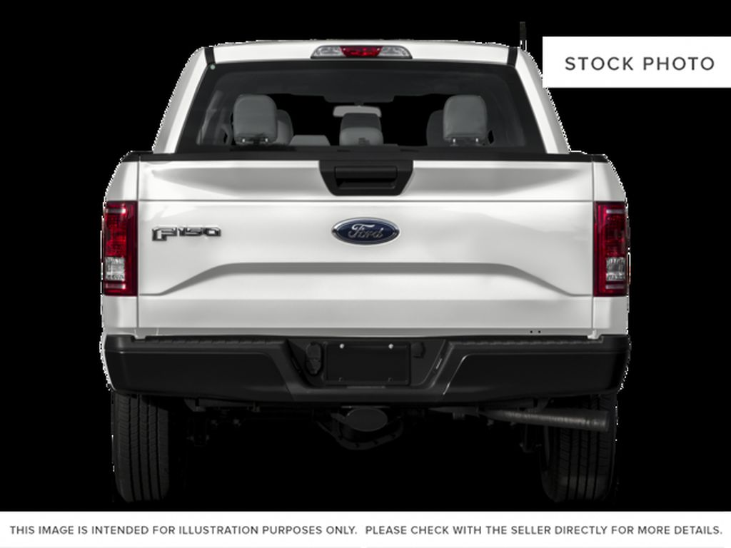White[Oxford White] 2017 Ford F-150 Rear of Vehicle Photo in Fort Macleod AB