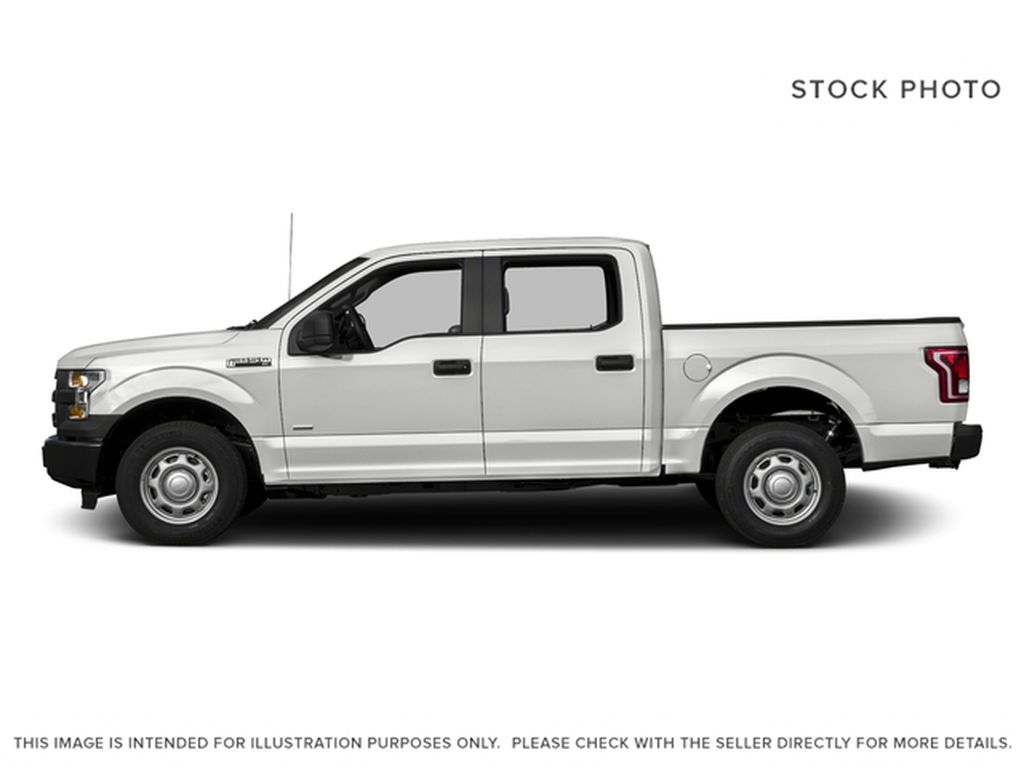 White[Oxford White] 2017 Ford F-150 Left Side Photo in Fort Macleod AB