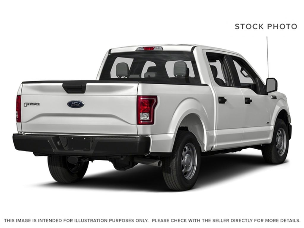 White[Oxford White] 2017 Ford F-150 Right Rear Corner Photo in Fort Macleod AB