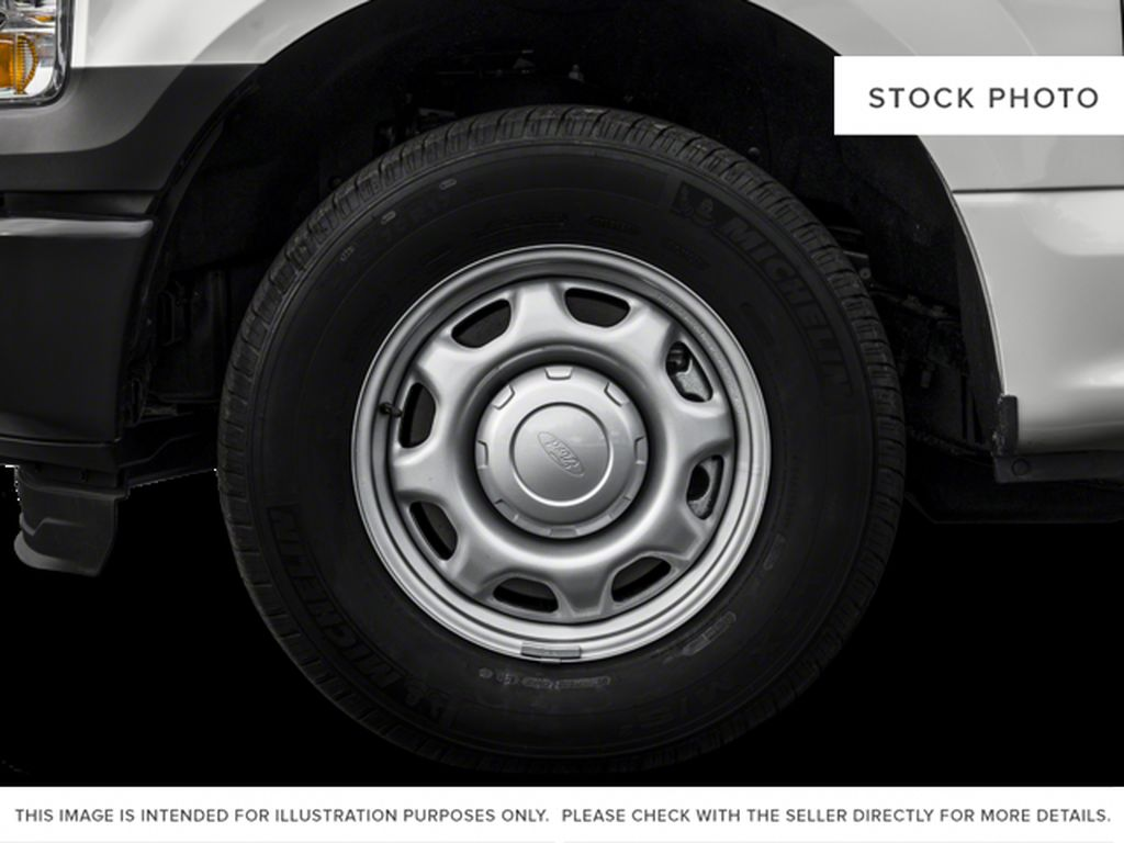 White[Oxford White] 2017 Ford F-150 Left Front Rim and Tire Photo in Fort Macleod AB