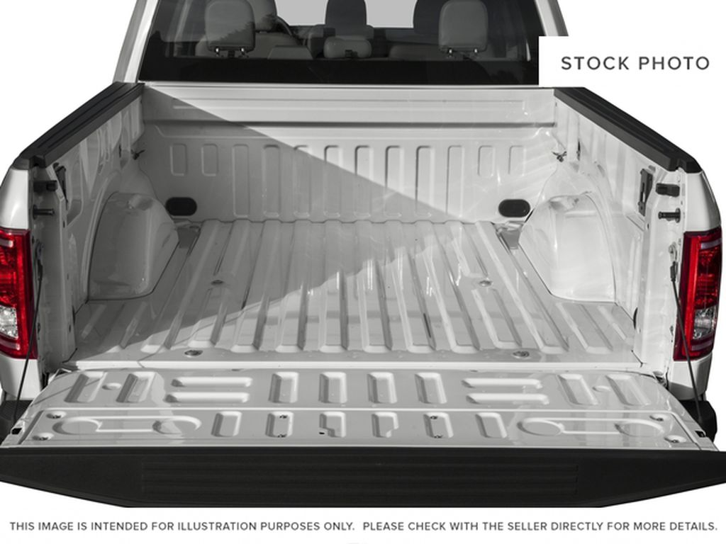 White[Oxford White] 2017 Ford F-150 Trunk / Cargo Area Photo in Fort Macleod AB