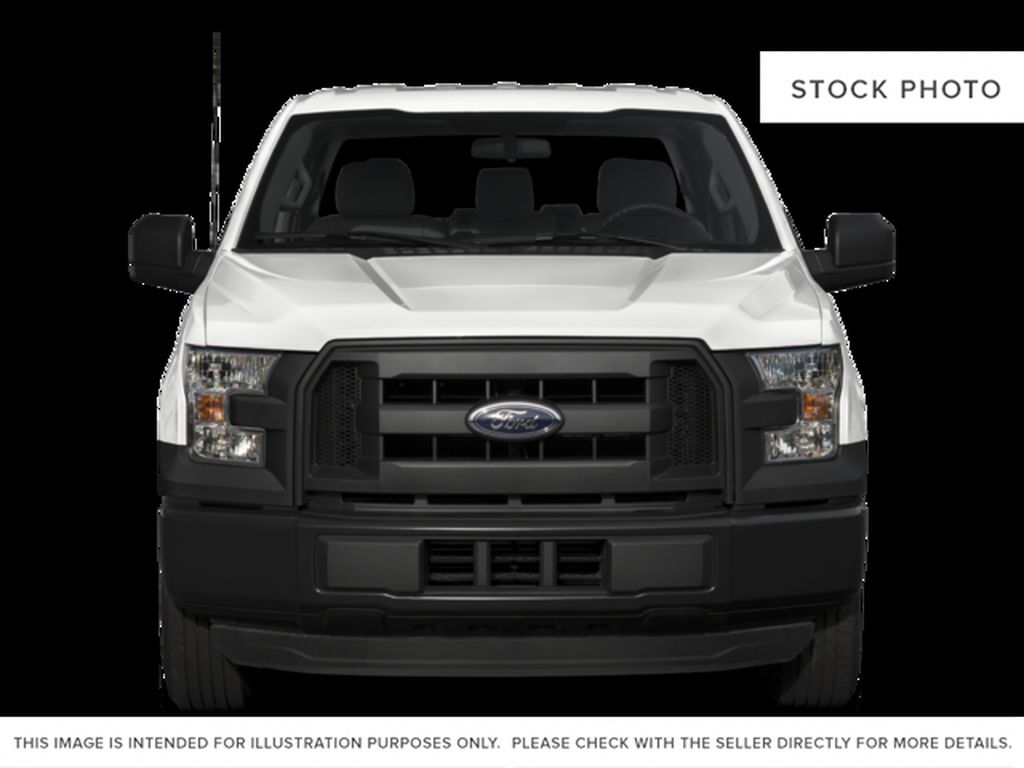 White[Oxford White] 2017 Ford F-150 Front Vehicle Photo in Fort Macleod AB