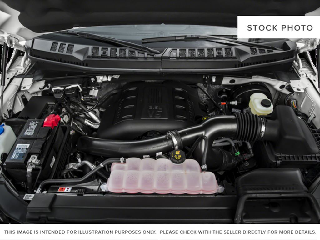 White[Oxford White] 2017 Ford F-150 Engine Compartment Photo in Fort Macleod AB