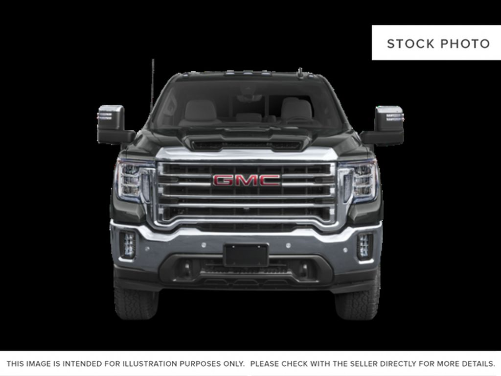 White[White Frost Tricoat] 2021 GMC Sierra 3500HD Denali Front Vehicle Photo in Calgary AB