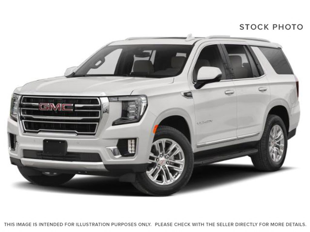 White[Summit White] 2021 GMC Yukon SLT Left Front Head Light / Bumper and Grill in Calgary AB