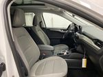 White[Oxford White] 2021 Ford Escape Right Side Front Seat  Photo in Dartmouth NS