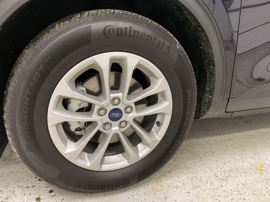 Blue[Antimatter Blue Metallic] 2021 Ford Escape Left Front Rim and Tire Photo in Dartmouth NS