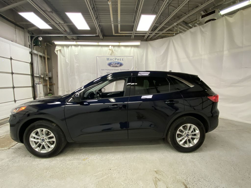 Blue[Antimatter Blue Metallic] 2021 Ford Escape Left Side Photo in Dartmouth NS