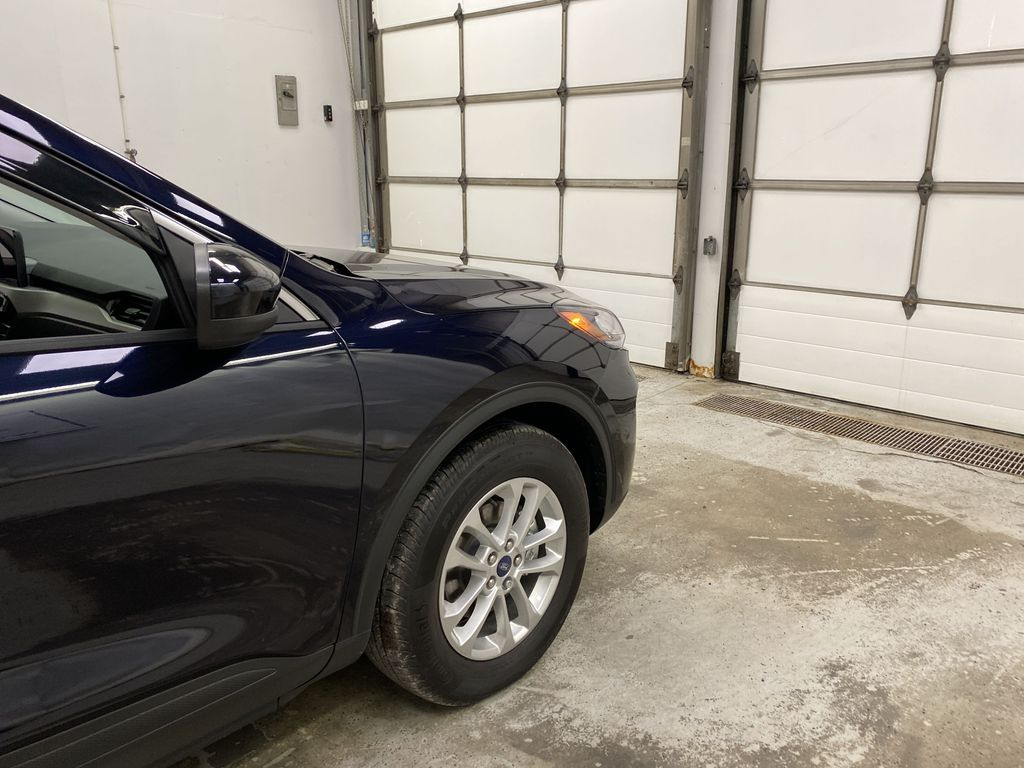 Blue[Antimatter Blue Metallic] 2021 Ford Escape Right Front Corner Photo in Dartmouth NS