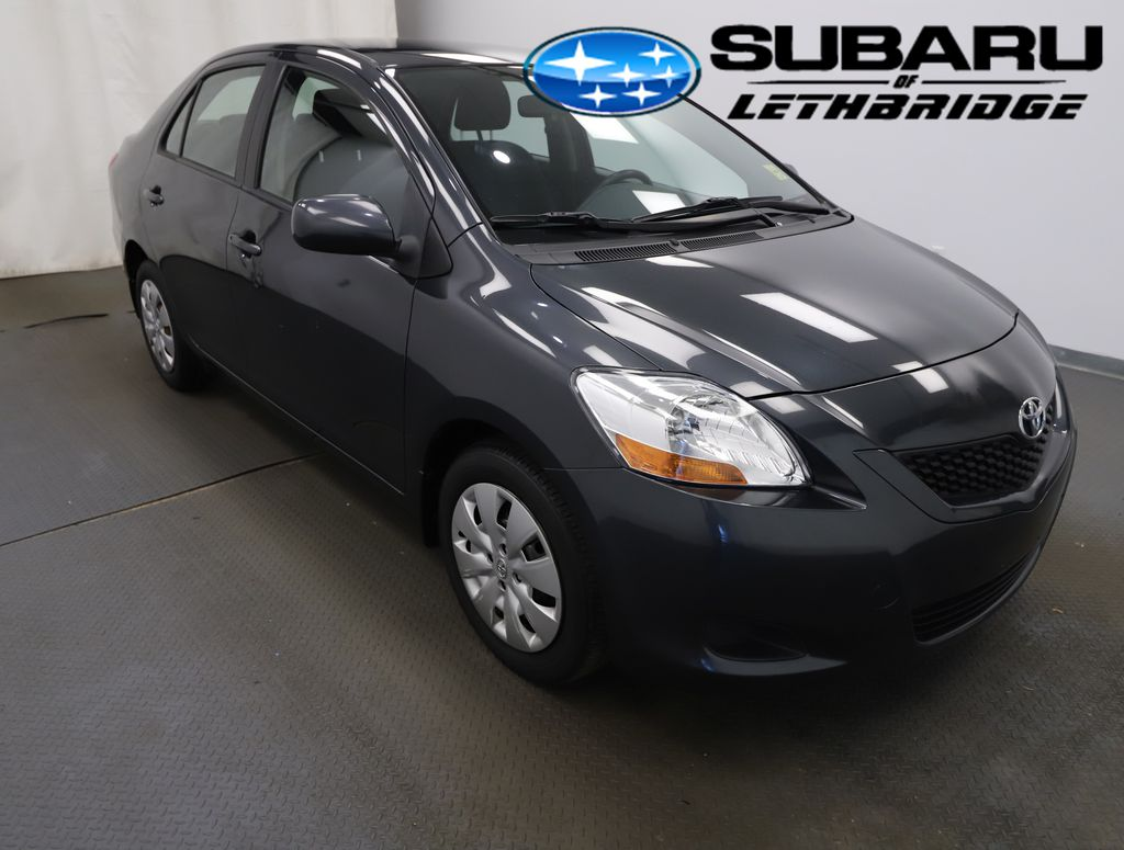 Black 2009 Toyota Yaris Left Front Rim and Tire Photo in Lethbridge AB