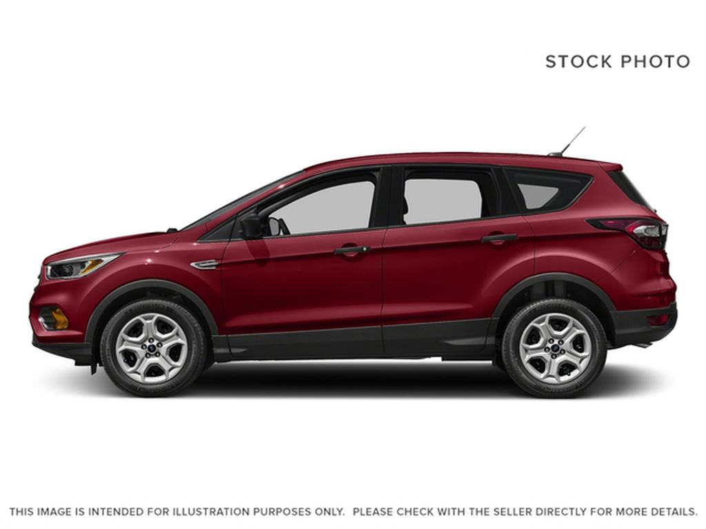 Red[Ruby Red Metallic Tinted Clearcoat] 2017 Ford Escape Left Side Photo in Dartmouth NS