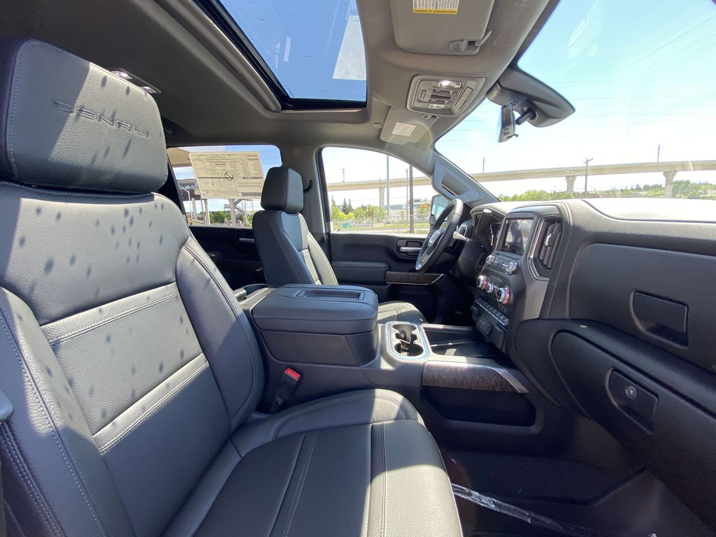 White[White Frost Tricoat] 2021 GMC Sierra 3500HD Denali Right Side Front Seat  Photo in Calgary AB