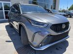 Gray[Magnetic Grey Metallic] 2021 Toyota Highlander AWD XSE Package LZRBHT AN Engine Compartment Photo in Brampton ON