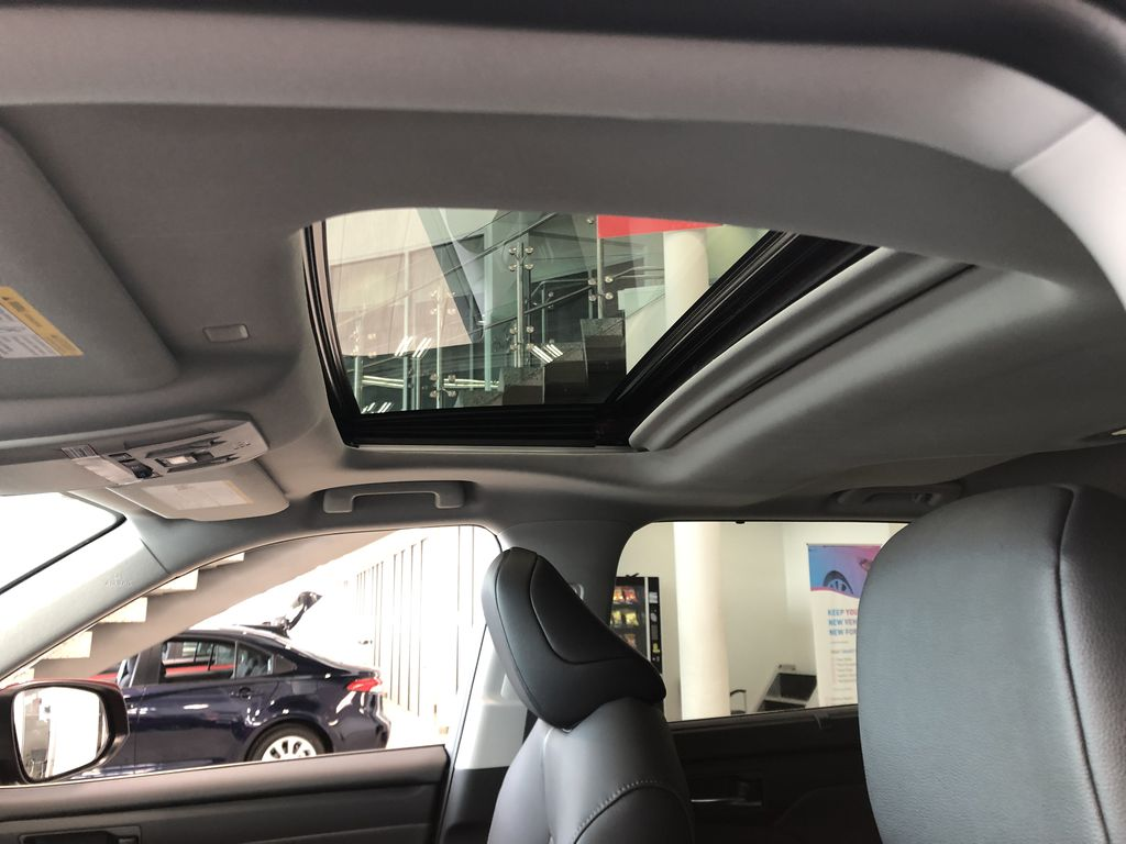 Ruby Flare Pearl 2021 Toyota Highlander XLE Front Vehicle Photo in Edmonton AB