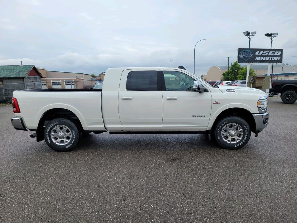 White 2021 Ram 2500 Left Front Interior Photo in Fort Macleod AB