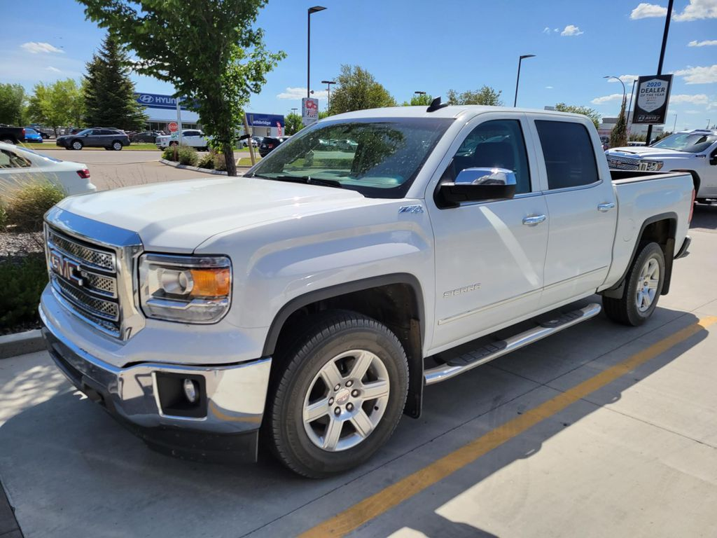 White 2015 GMC Sierra 1500 Left Front Rim and Tire Photo in Lethbridge AB