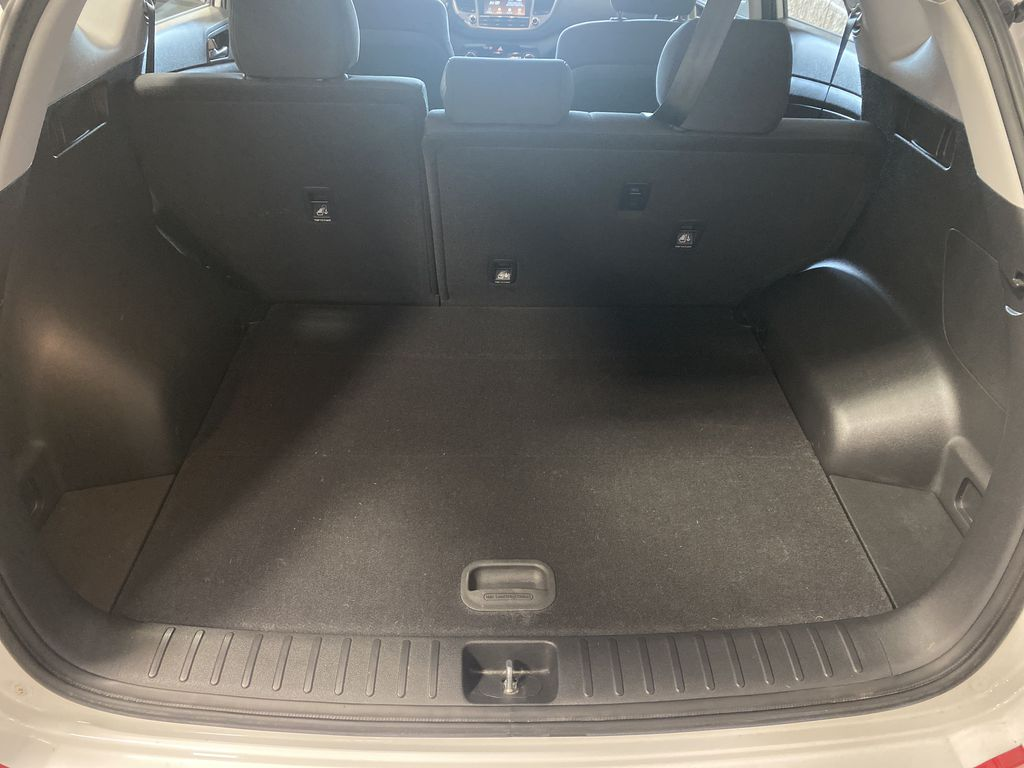 White[Winter White] 2018 Hyundai Tucson Right Side Rear Seat  Photo in Belleville ON