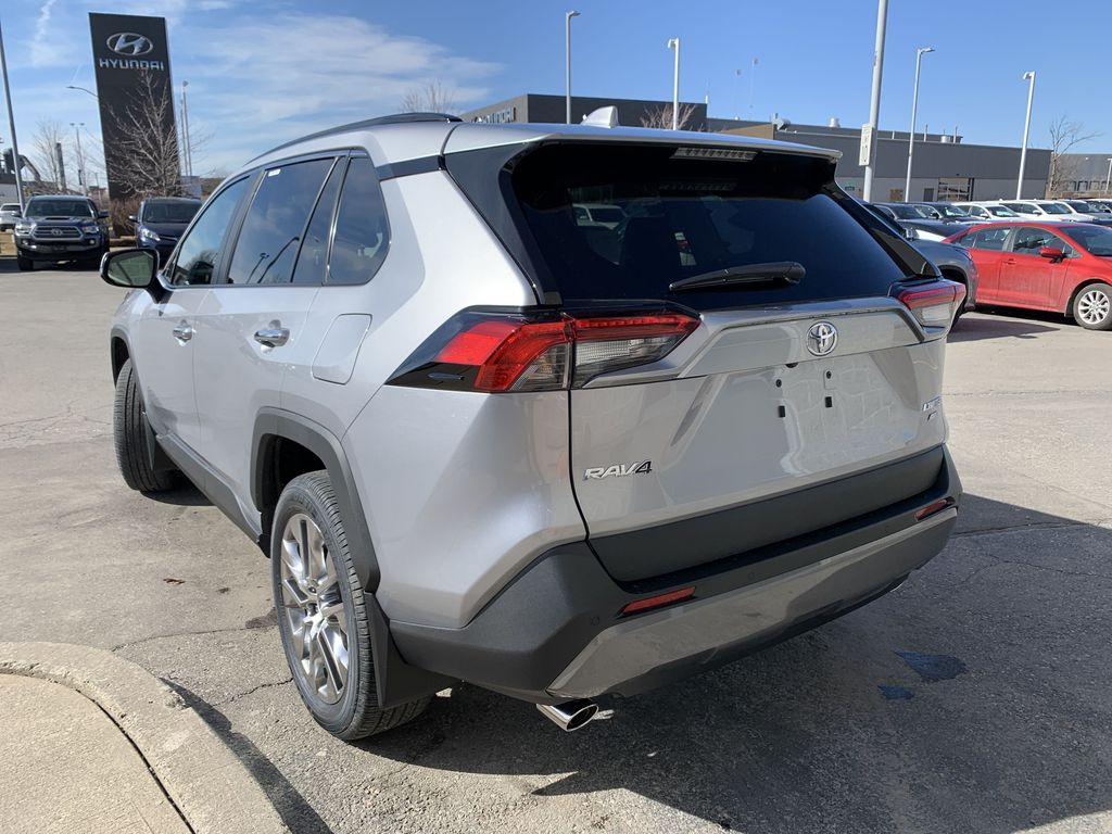 Silver[Silver Sky Metallic] 2021 Toyota RAV4  AWD Limited Package D1RFVT AM Left Front Interior Door Panel Photo in Brampton ON