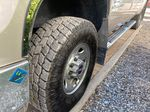 Tan 2008 GMC Sierra 2500HD Left Front Rim and Tire Photo in Lethbridge AB