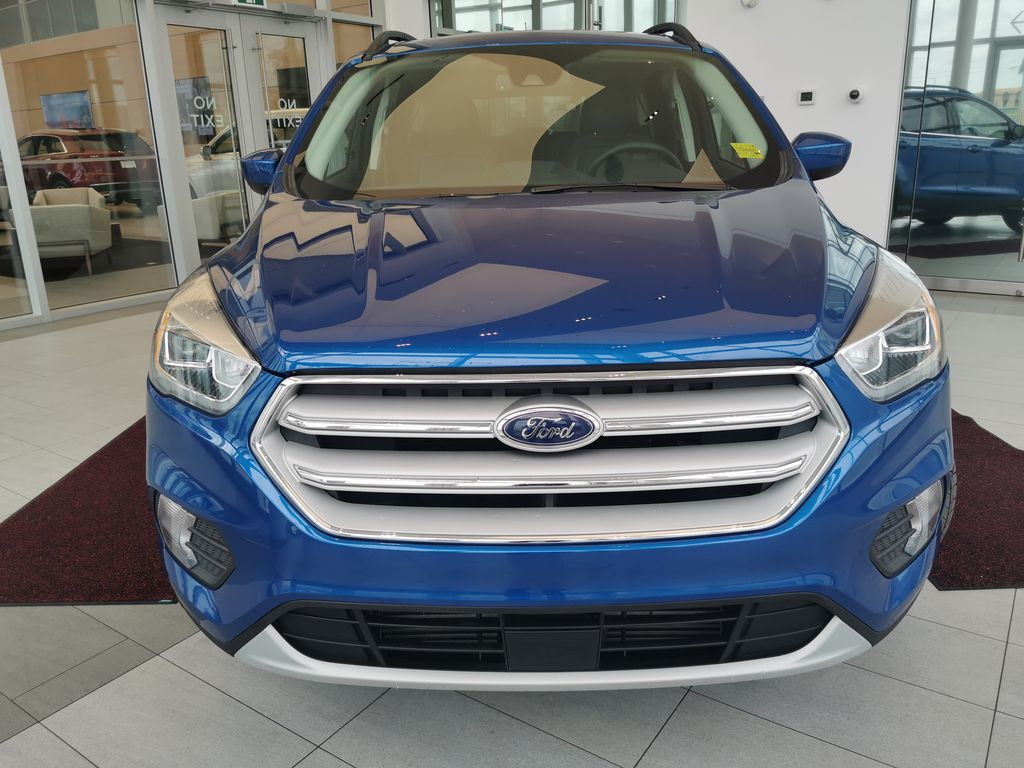 Blue[Lightning Blue] 2019 Ford Escape Front Vehicle Photo in Edmonton AB