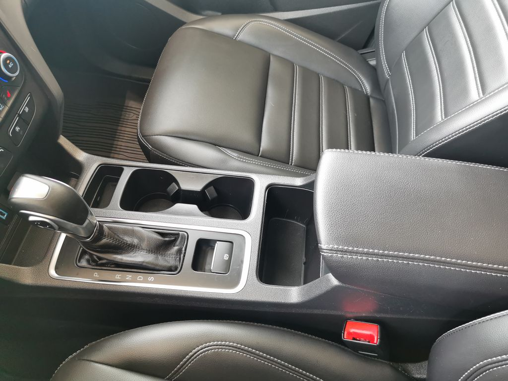 Blue[Lightning Blue] 2019 Ford Escape Center Console Photo in Edmonton AB
