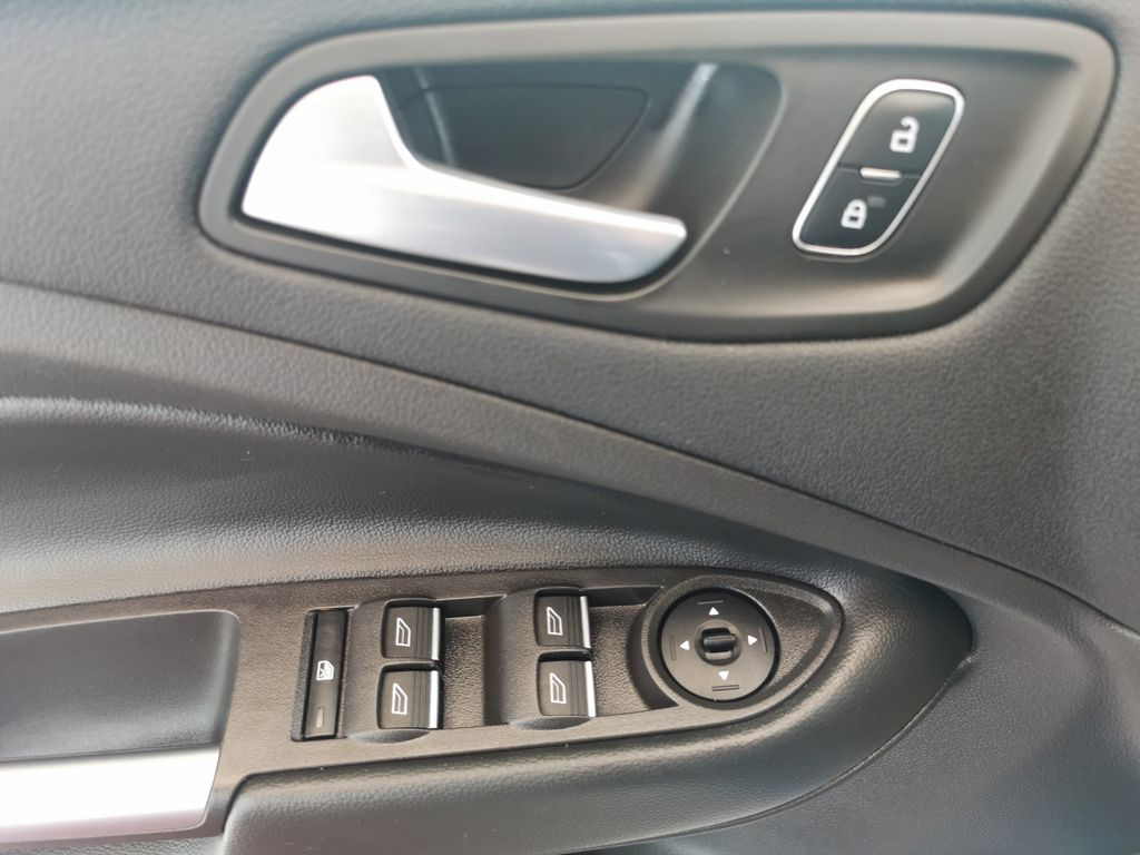 Blue[Lightning Blue] 2019 Ford Escape  Driver's Side Door Controls Photo in Edmonton AB