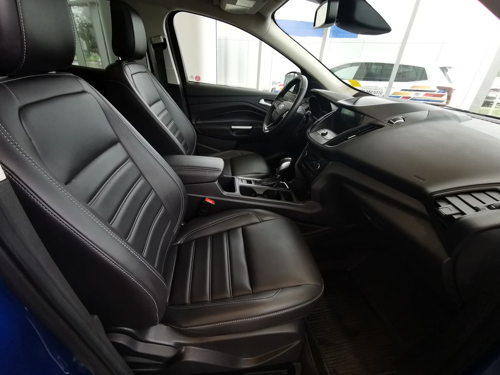Blue[Lightning Blue] 2019 Ford Escape Right Side Front Seat  Photo in Edmonton AB