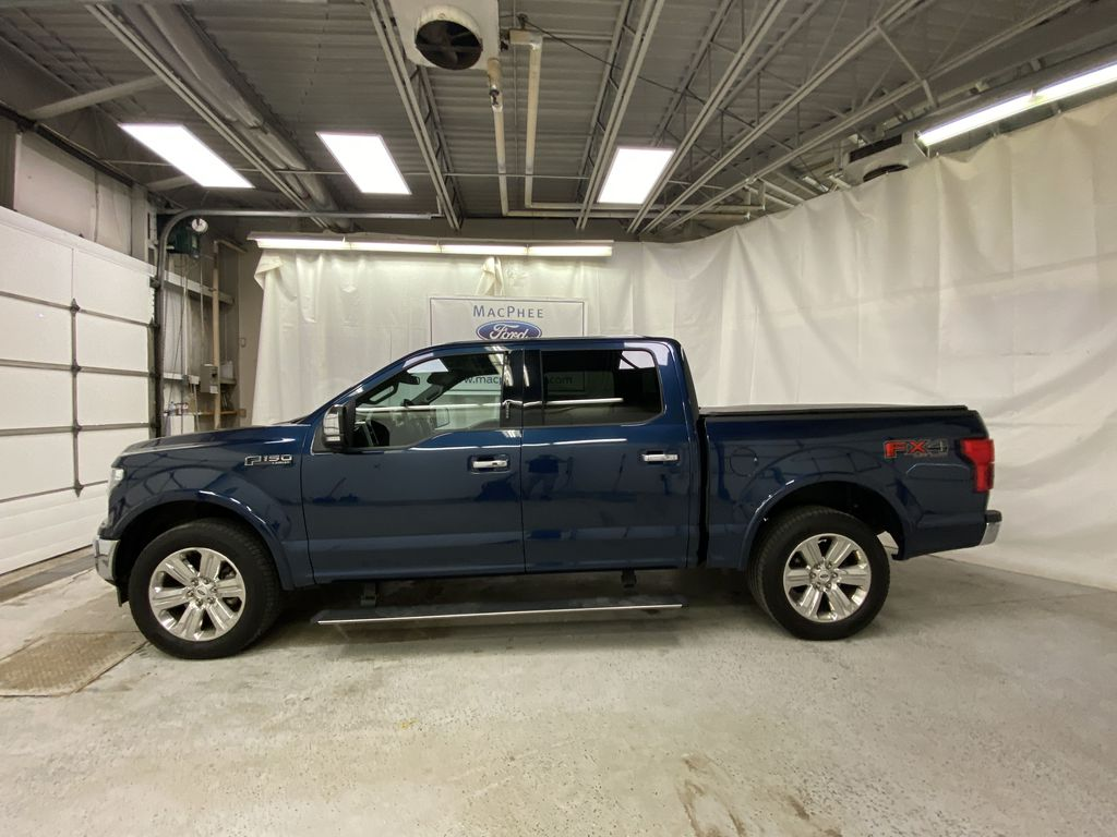 Blue[Blue Jeans Metallic] 2018 Ford F-150 Left Side Photo in Dartmouth NS