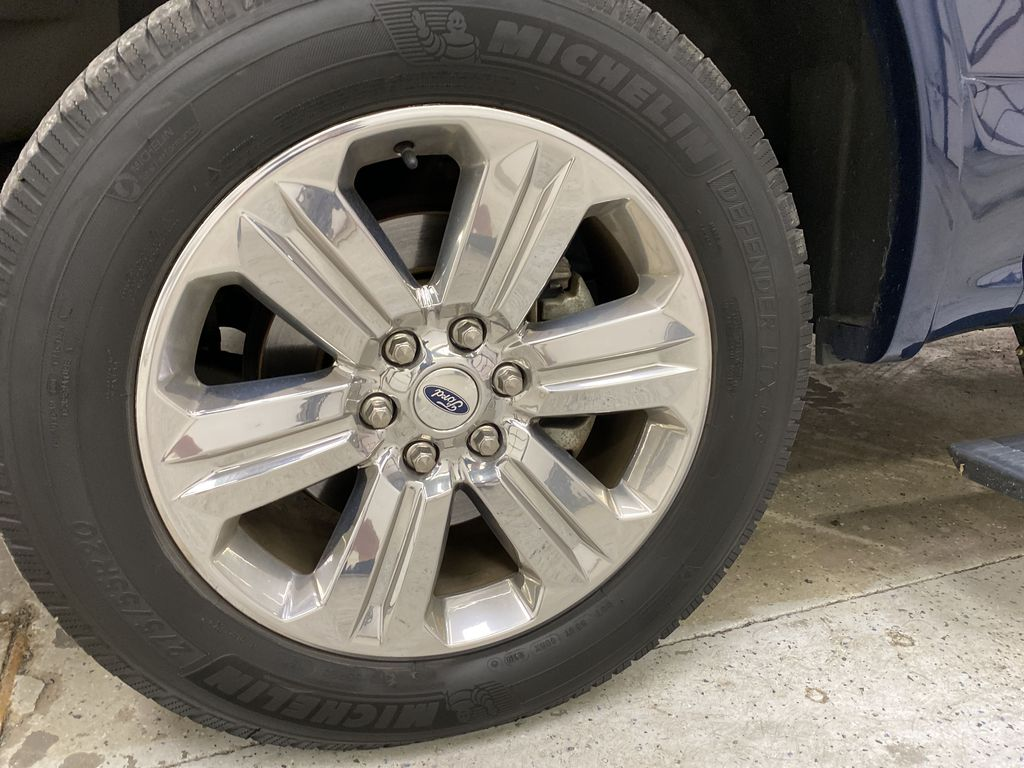 Blue[Blue Jeans Metallic] 2018 Ford F-150 Left Front Rim and Tire Photo in Dartmouth NS