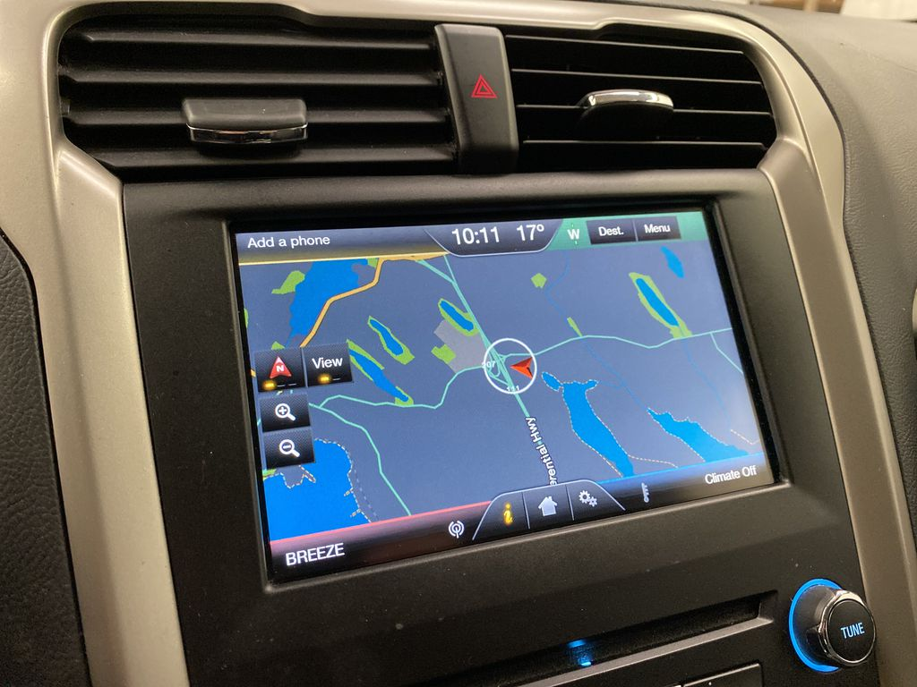 UNKNOWN 2016 Ford Fusion Navigation Screen Closeup Photo in Dartmouth NS