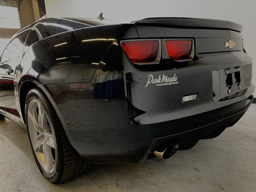CHARCOAL 2012 Chevrolet Camaro 2SS - 426hp, 6 M/T, Brembo, Bluetooth, Backup Cam, Leather Left Rear Corner Photo in Edmonton AB