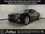 CHARCOAL 2012 Chevrolet Camaro 2SS - 426hp, 6 M/T, Brembo, Bluetooth, Backup Cam, Leather Primary Photo in Edmonton AB