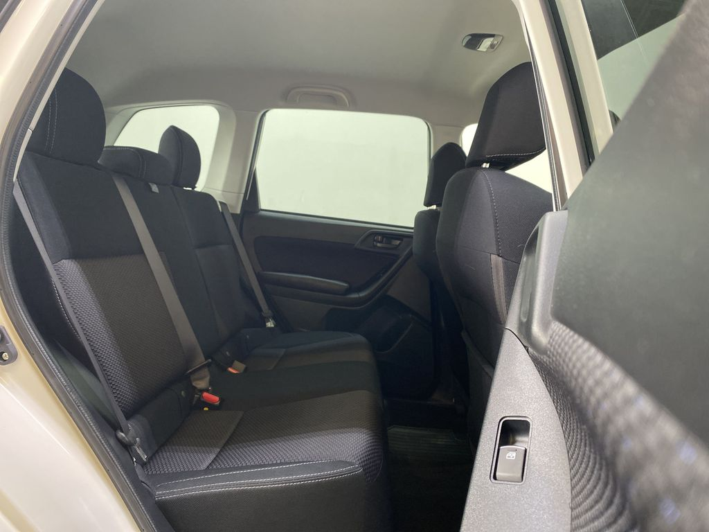 WHITE 2018 Subaru Forester 2.5i - Bluetooth, Remote Start, Backup Cam, Heated Seats, XM Right Side Rear Seat  Photo in Edmonton AB