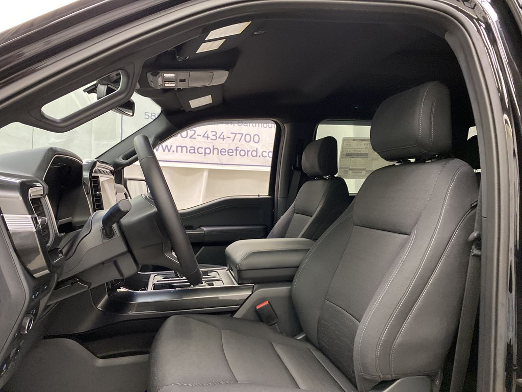 Black[Agate Black Metallic] 2021 Ford F-150 Left Front Interior Photo in Dartmouth NS