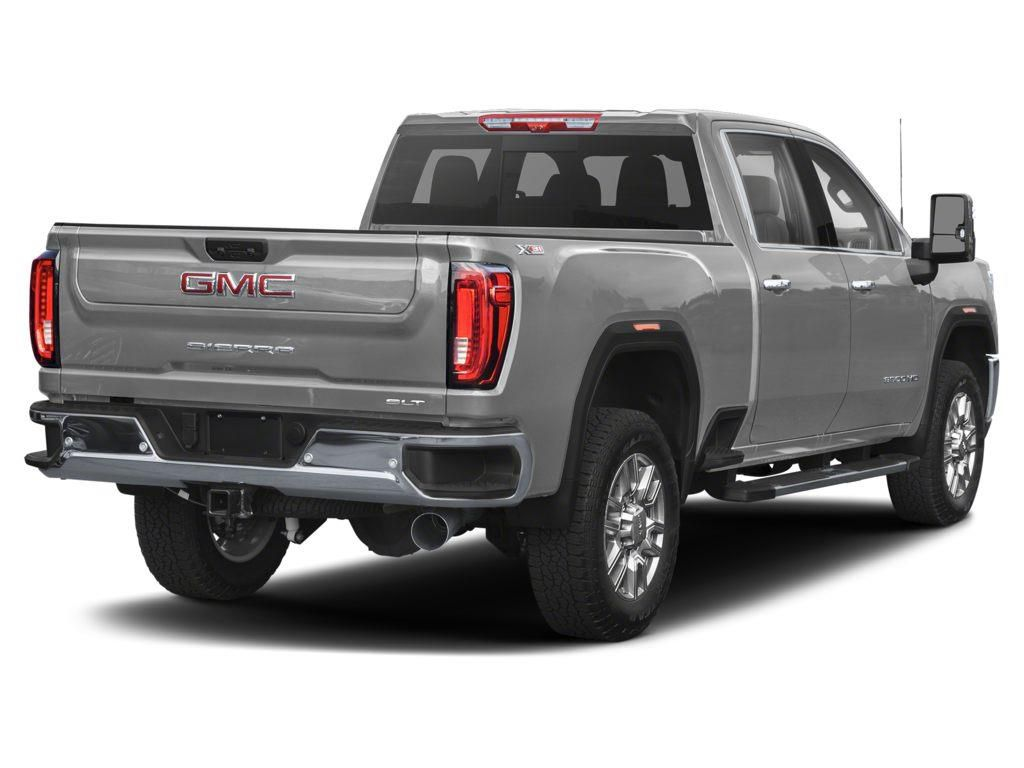 Silver 2021 GMC Sierra 3500HD Left Front Rim and Tire Photo in Lethbridge AB