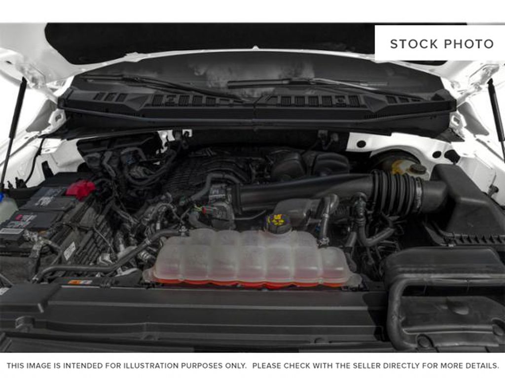 Gray[Abyss Grey] 2019 Ford F-150 Engine Compartment Photo in Fort Macleod AB