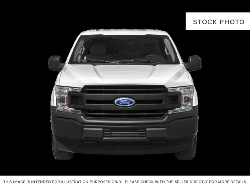 Gray[Abyss Grey] 2019 Ford F-150 Front Vehicle Photo in Fort Macleod AB