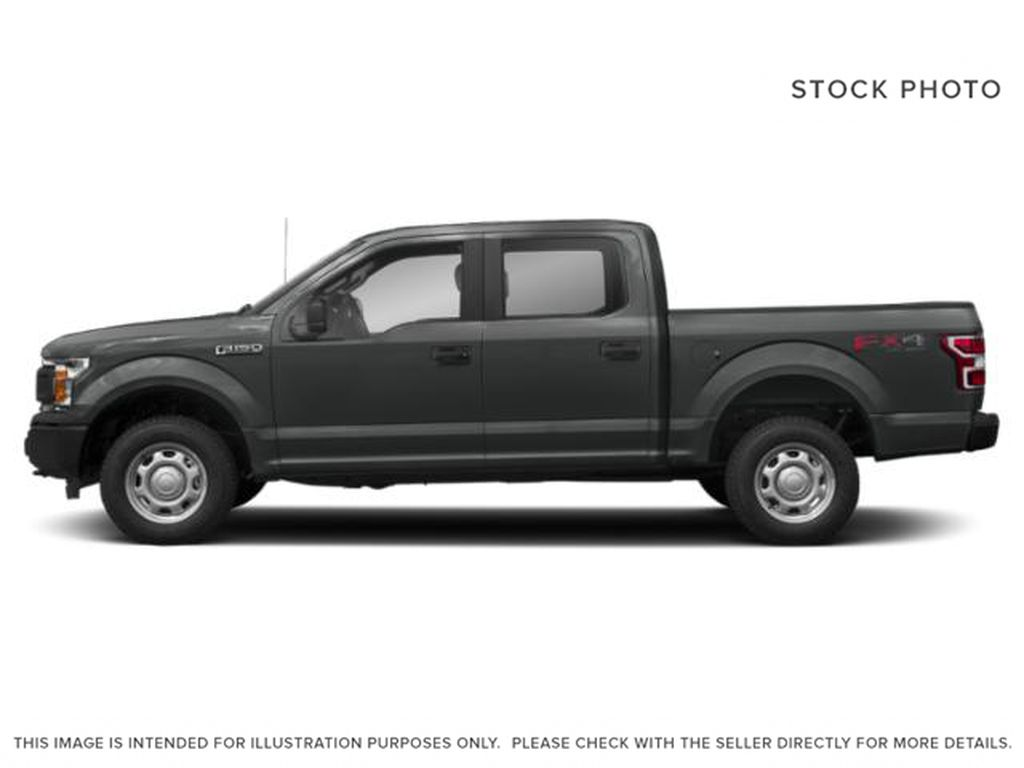 Gray[Abyss Grey] 2019 Ford F-150 Left Side Photo in Fort Macleod AB