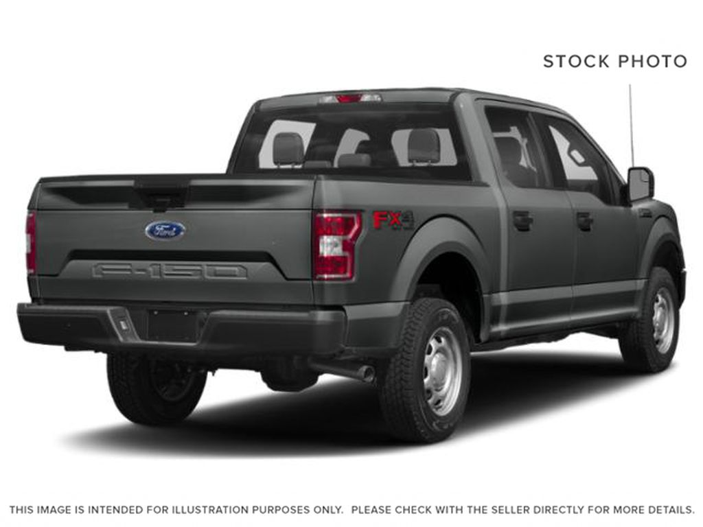 Gray[Abyss Grey] 2019 Ford F-150 Right Rear Corner Photo in Fort Macleod AB