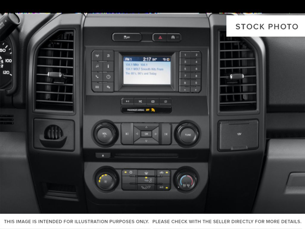 Gray[Abyss Grey] 2019 Ford F-150 Radio Controls Closeup Photo in Fort Macleod AB