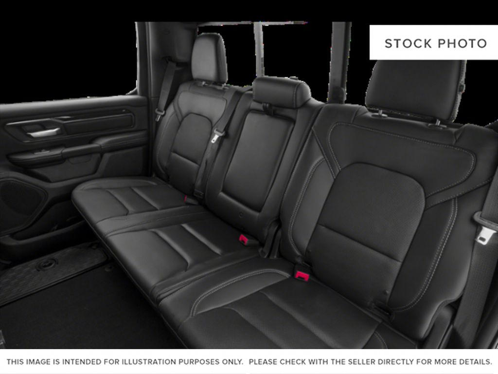 White[Bright White] 2019 Ram 1500 Left Side Rear Seat  Photo in Fort Macleod AB