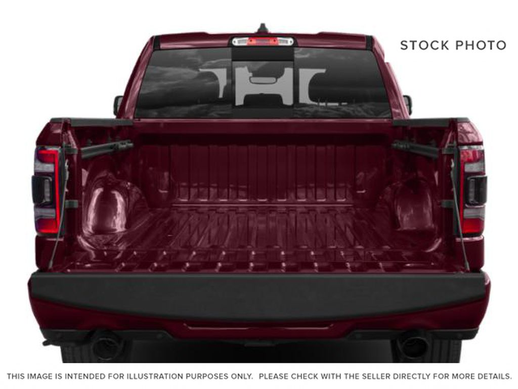 White[Bright White] 2019 Ram 1500 Trunk / Cargo Area Photo in Fort Macleod AB