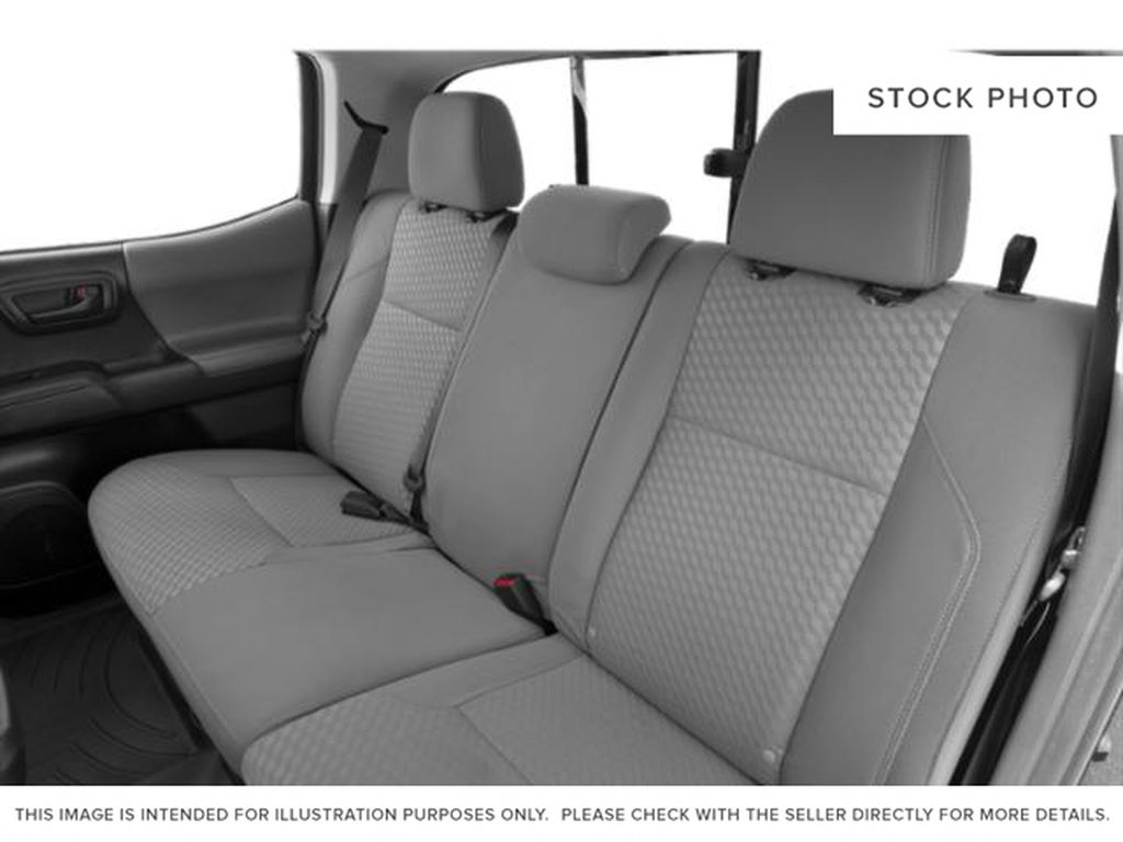 Blue[Voodoo Blue] 2021 Toyota Tacoma Left Side Rear Seat  Photo in Fort Macleod AB