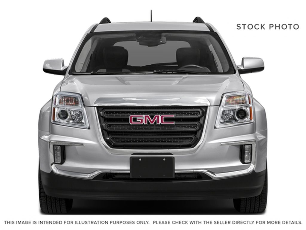 Silver[Quicksilver Metallic] 2017 GMC Terrain Front Vehicle Photo in Fort Macleod AB