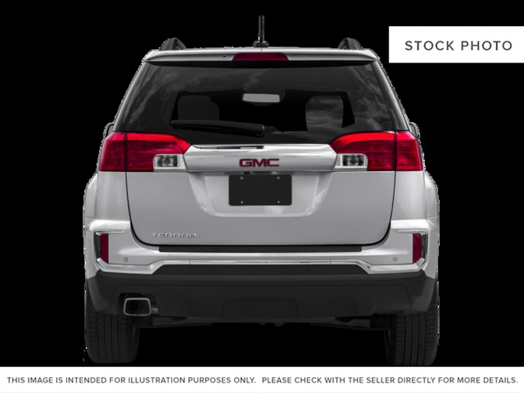Silver[Quicksilver Metallic] 2017 GMC Terrain Rear of Vehicle Photo in Fort Macleod AB